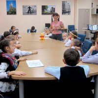 Children Library Club meeting